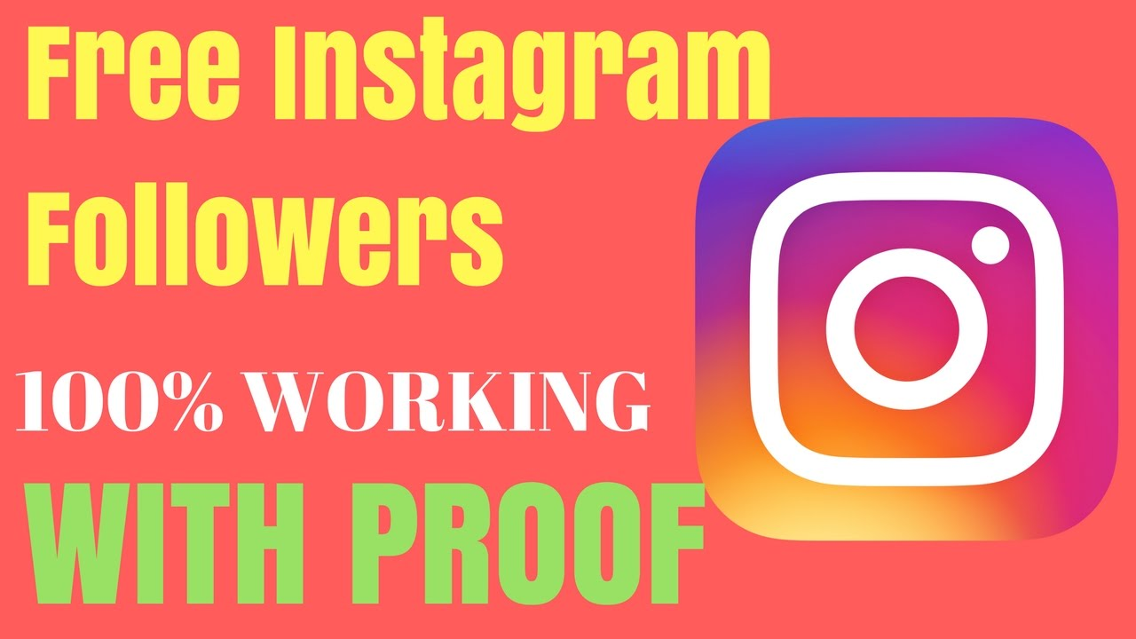 Free Instagram Followers without Survey and Verification 2020